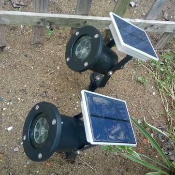 Solar Christmas projector Light