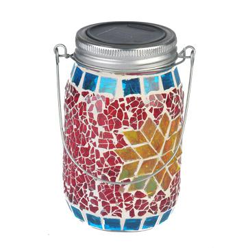 solar mason jar string lights